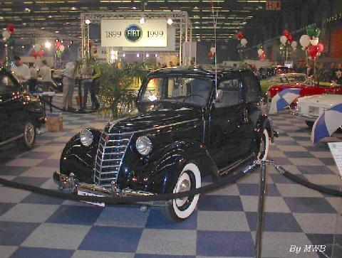 1949 Fiat 1100 E. Les modeles Fiat
